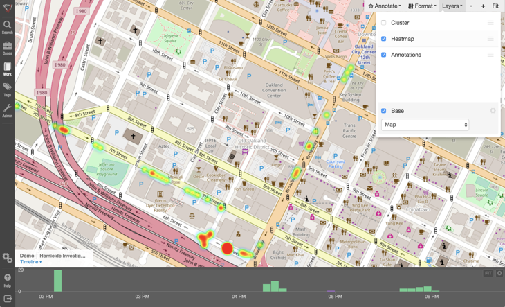 Visallo 4 1: Map Layers, Heatmaps, and a New API